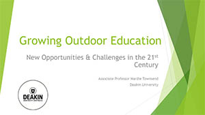 Growing Outdoor Education