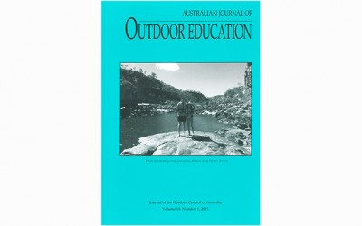 New Australian Journal of Outdoor Education Out Now!