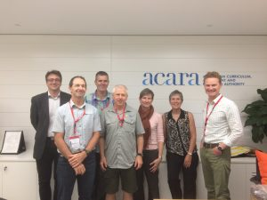 photo of a group of people from ACARA meeting