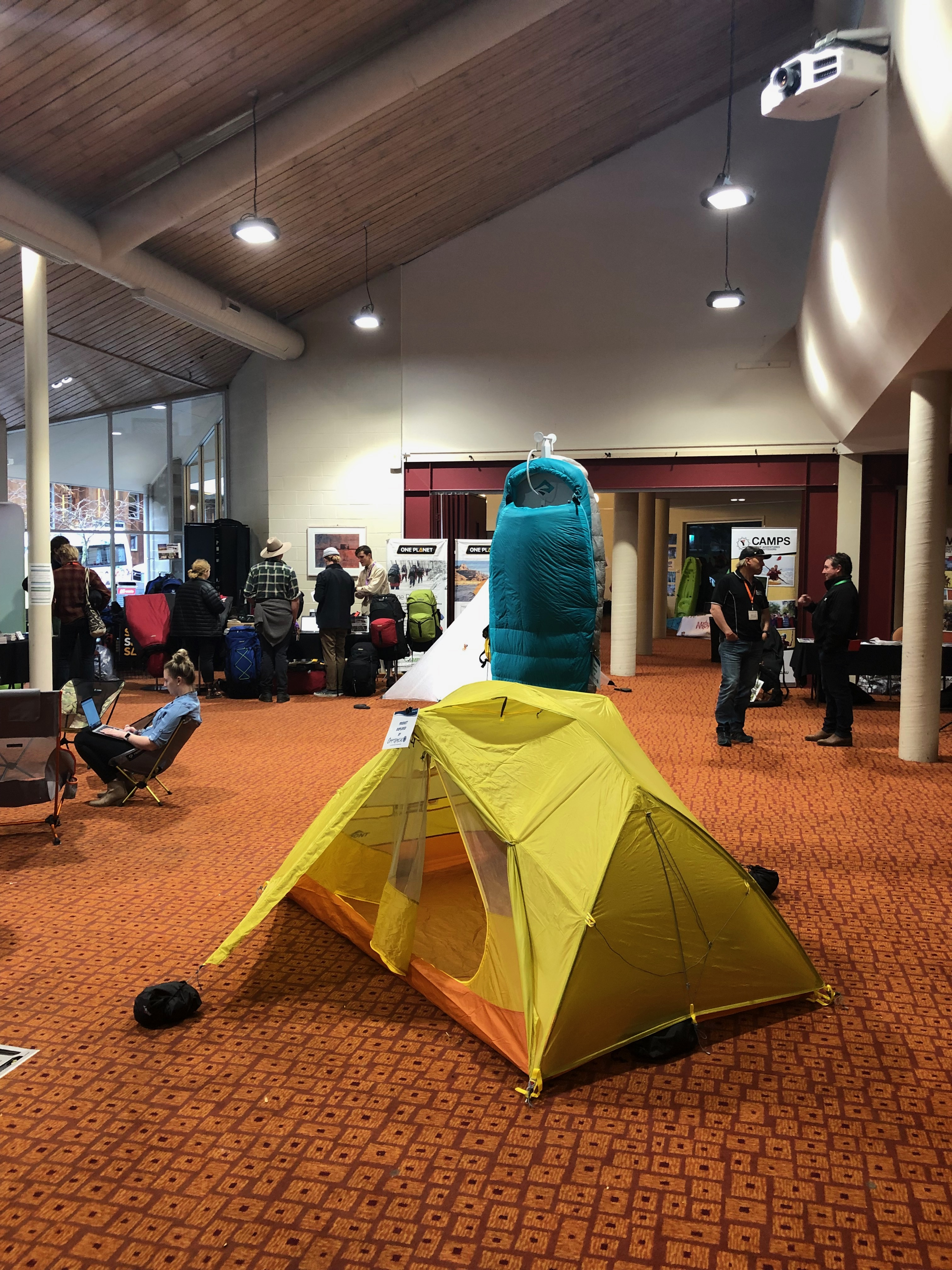 Exhibitor tents