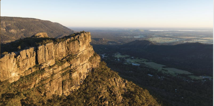 Grampians: image supplied by Parks Victoria